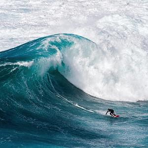 Great Wave Off Peahi Alu-Mini