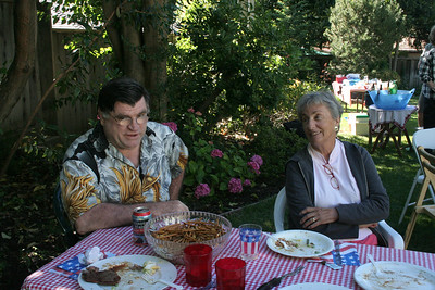 Bob & Nan at Coordinators BBQ