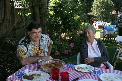 Bob & Nan at Coordinators BBQ