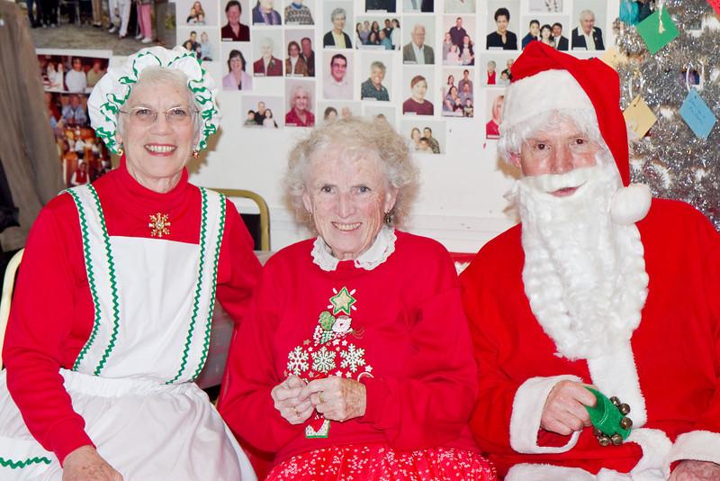 Barbara, Margaret, and Frank