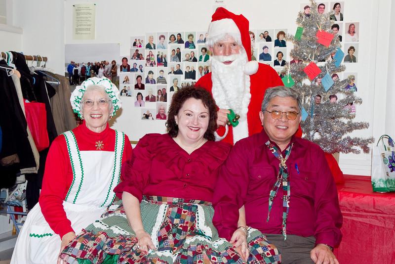 Frank, Barbara, and guests