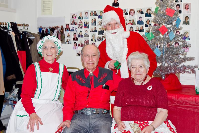 Frank, Barbara, Al, and Michelle