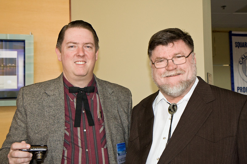 Lawrence Johnstone and Bob Elling at Callerlab