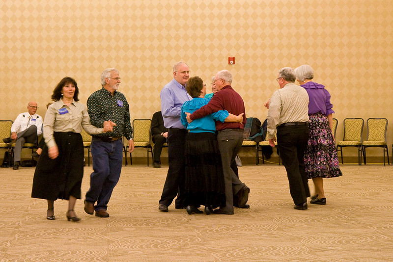 Square dancing at Callerlab Convention at Niagara Falls, NY