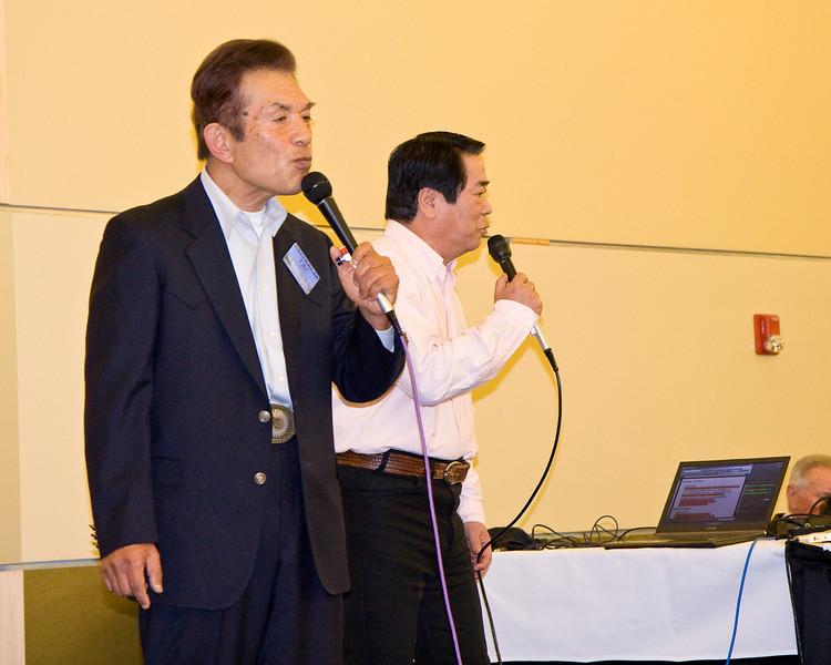 Tac Ozaki and Masaru Wada, callers from Japan, at Callerlab