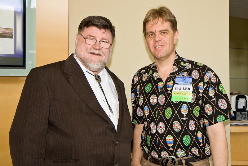 Bob Elling and Vic Ceder at Callerlab