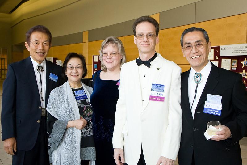 Tac Ozaki, Miyoko, Laura & Wade Morrow, Shozo Nishimura