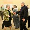 Meg and Keith Ferguson contra dancing at Callerlab