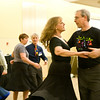 Betsy Gotta and Clark Baker contra dancing