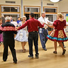 Square dancers at the Roadrunners dance with Jerry Helt calling
