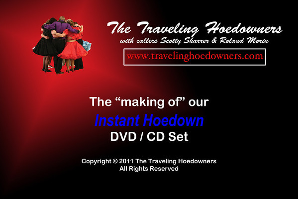 2011 Instant Hoedown Rehearsal & Shoot