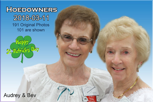 2018-03-11 Hoedowners St. Patrick's Day Dance