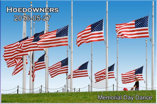 2018-05-27 Hoedowners Memorial Day Dance