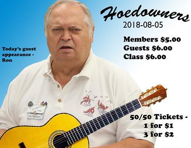 2018-08-05 Hoedowners