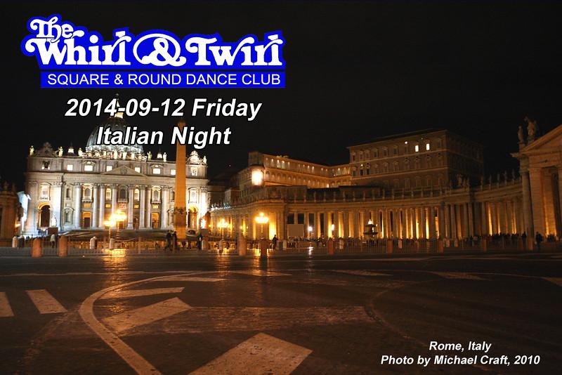 2014-09-12 Friday Italian Night