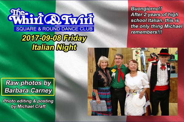 2017-09-08 WT Italian Night