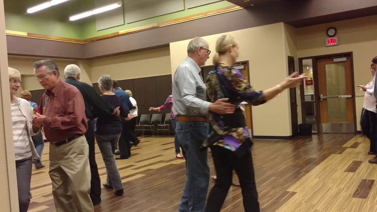 Reeler's Square Dance lesson 1 March 2016