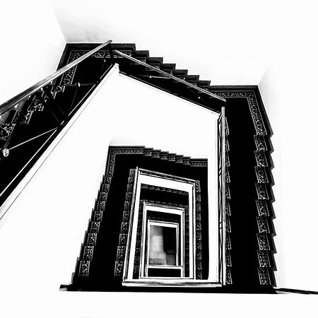 Spiral Stairs - Rome<br /> © Sharon Thomas
