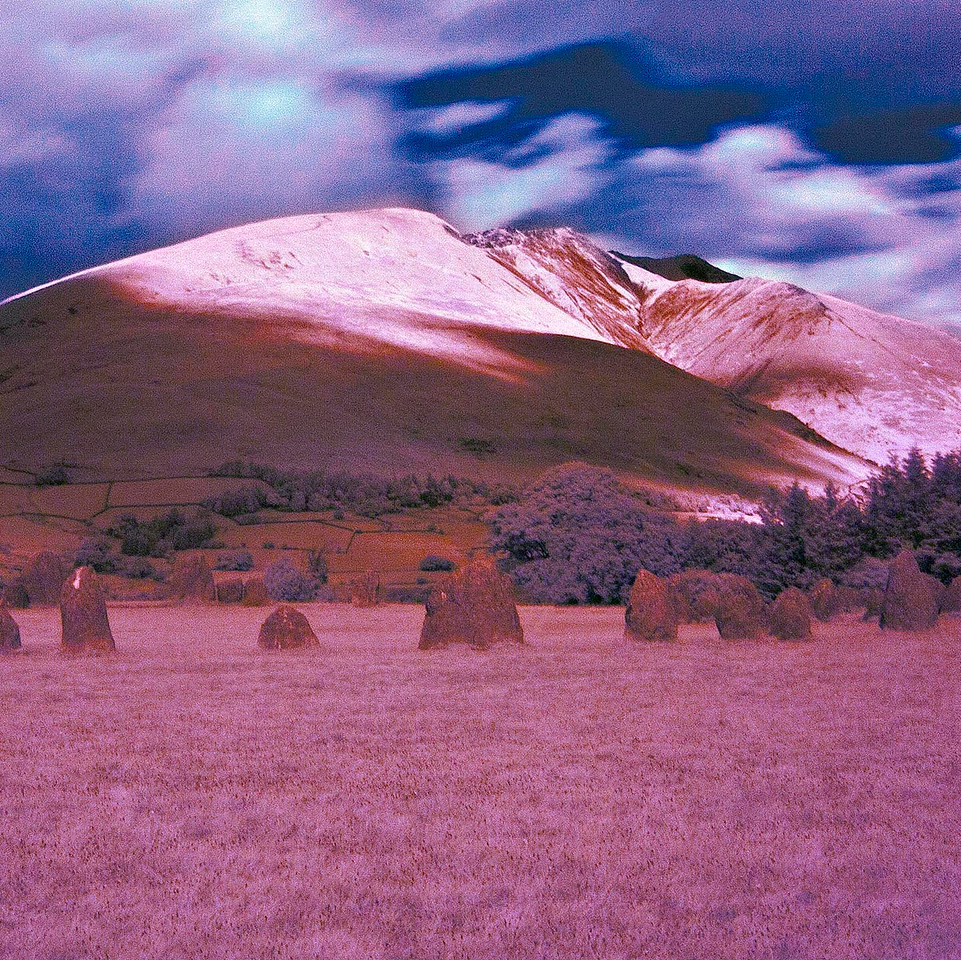 Castlerigg Stone Circle and Blencathra In The Infra-Red (v2)