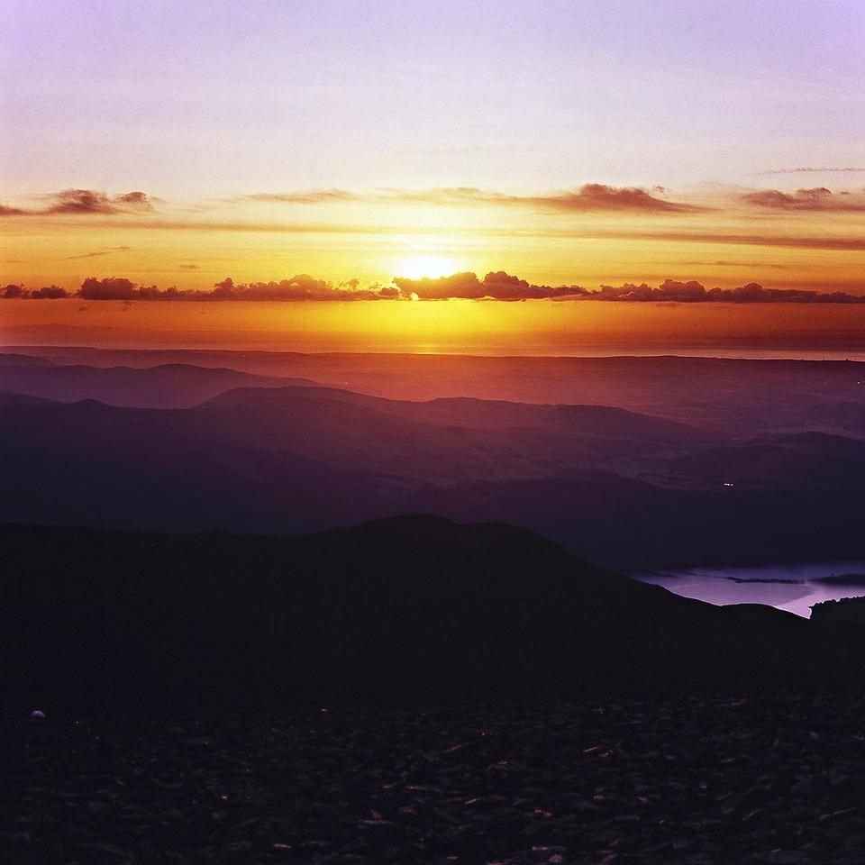 Sunset From Skiddaw Summit