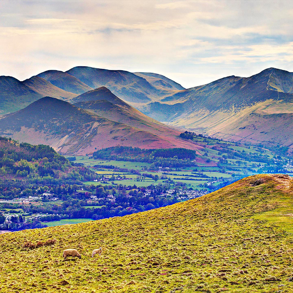 The North Western Fells from Latrigg