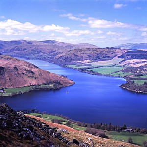 Ullswater From Bonscale Tower