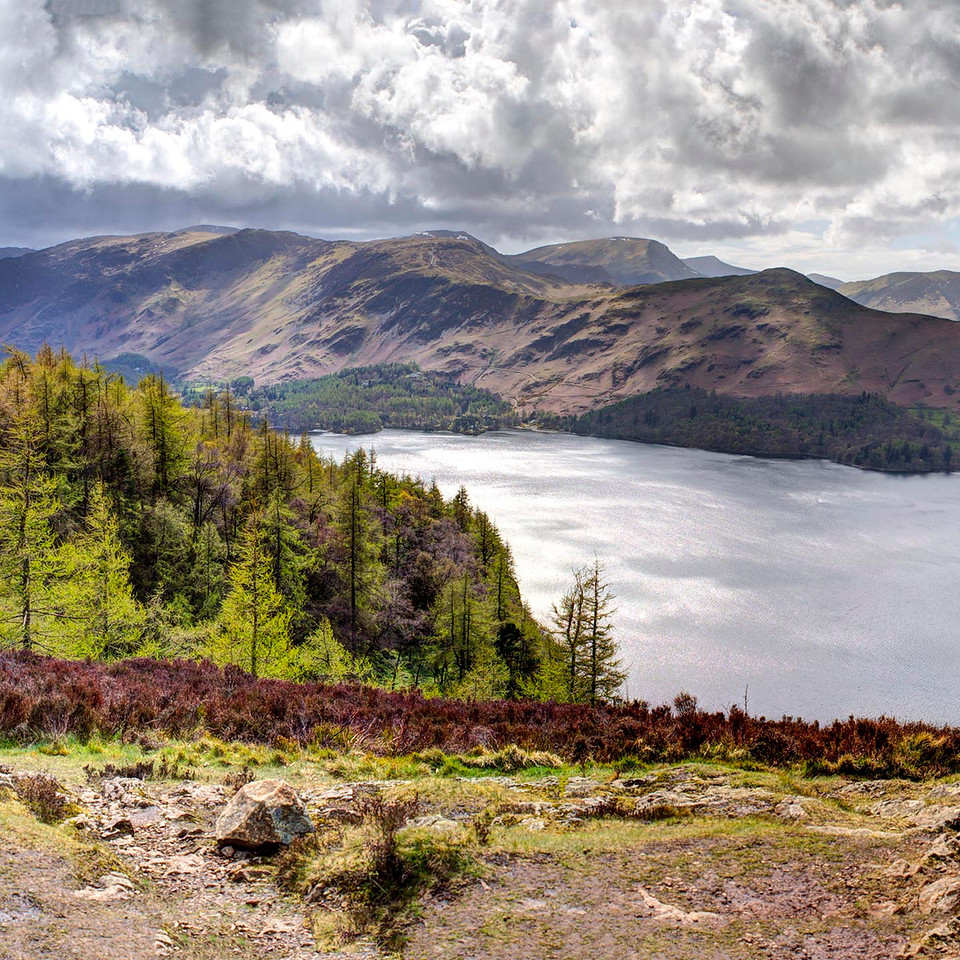 Walla Crag : Derwent Water and NW Fells