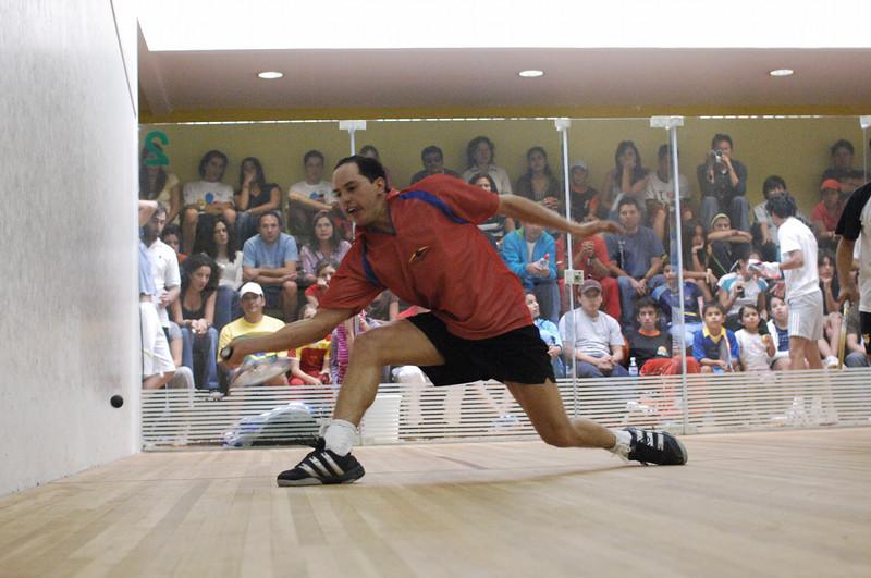 Francisco Lalama over Rodeigo Cevallos 8/10, 9/6, 10/9, 5/9, 9/6 in thePrimera Categoris obierta Ecuatoriano Quarter Finals