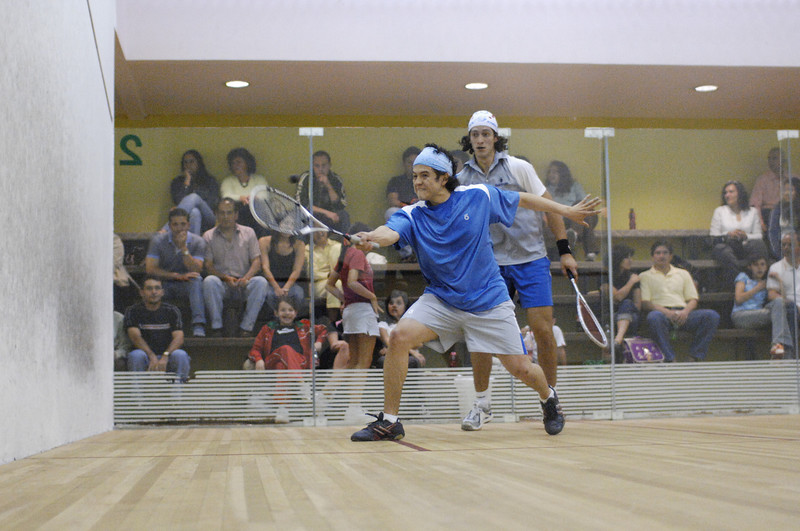 Juan Sebastian Chacon over Esteban Arroyo 9/0, 9/5, and 9/0 in the Primera Categoria Abierta Ecuatoriano Finals