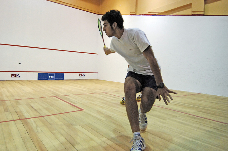 Quito 07 Squash Open Final Miguel Rodriguez (Col) over Omar Mossad (Egy) 3-1