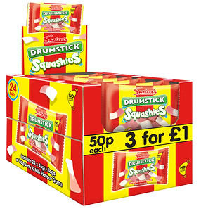 90451 Squashies Drumstick 45g 50p SRP