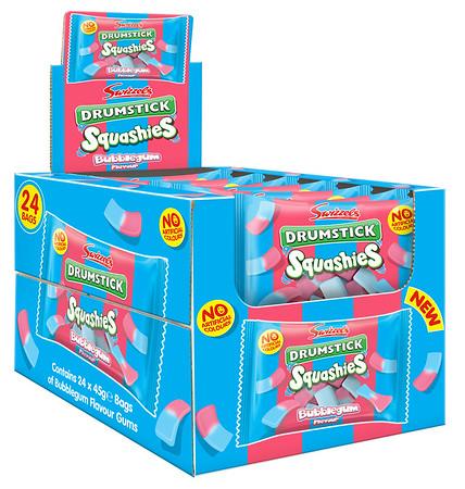 92228 Squashies Drumstick Bubblegum 45g SRP