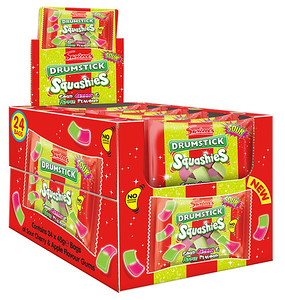 92241 Squashies Drumstick Sour Cherry and Apple 45g SRP
