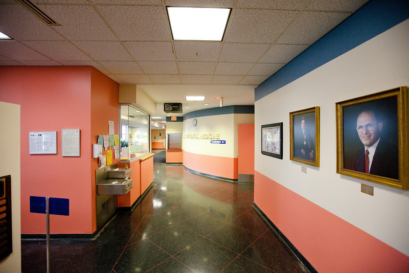 Interiors of the Dental School on South Campus