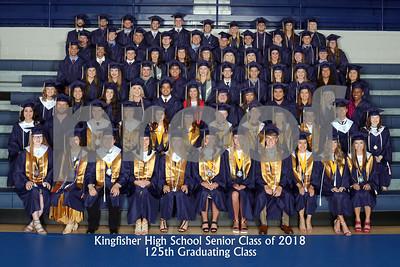 Sr Class of 2018 & Valedictorians