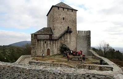 Srbija - Vrsacke planine (Vrsacka kula, Djakov vrh, Lisicija glava, planinarski dom Siroko bilo, etno kuca Dinar), 23.10.2016.
