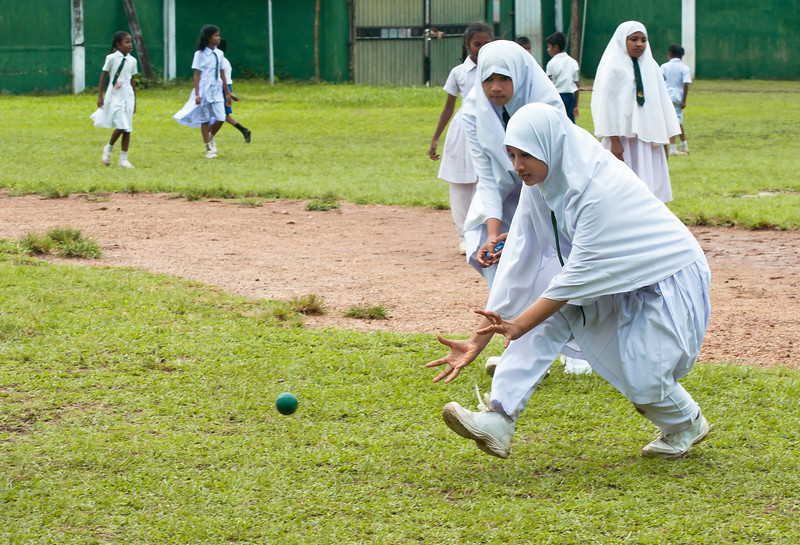 School recess, Galle, Sri Lanka