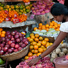 Produce stall on Main Street, Galle, Sri Lanka