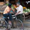 Conversation at the Dutch Market, Galle, Sri Lanka