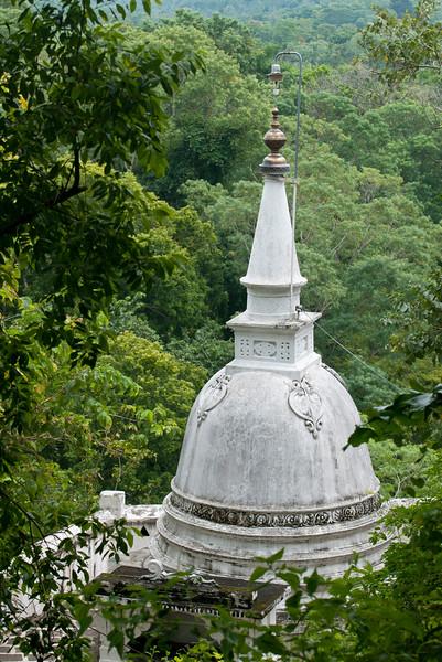 Dagoba at Mulkirigala, Sri Lanka