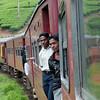 Train between Haputale and Kandy, Sri Lanka