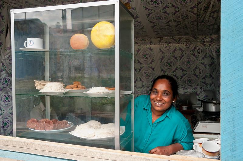 Food stall, Bandarawela, Sri Lanka