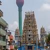 Lotos tower and Sivasubramania Swami Kovil