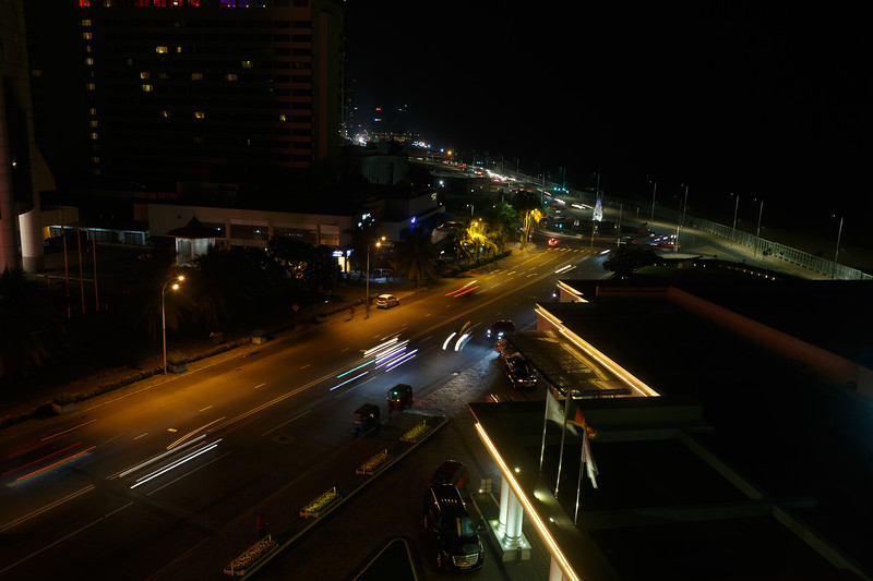 View from The Kingsbury Colombo Hotel
