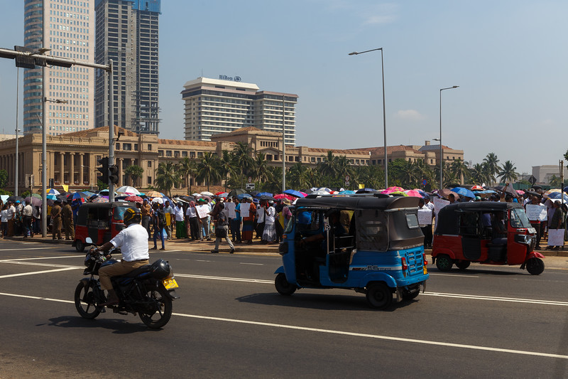On the streets of Colombo