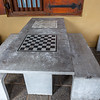 Chess tables in Old Dutch Hospital