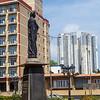 Anagarika Dharmapala statue Viharamahadevi