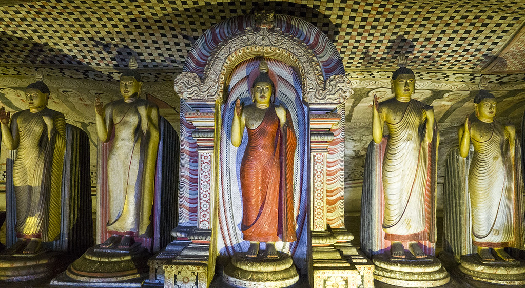 Top 10 Things to do in Sri Lanka: Dambulla Cave Temple