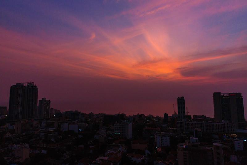 Skyline Sunset in Colombo