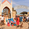 Negombo Fish Market Entrance